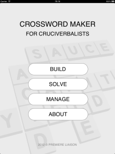 Crosswork Maker For Cruciverbalists
